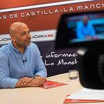 José García Molina, vicepresidente de las Cortes de Castilla-La Mancha y secretario general de PODEMOS en Castilla-La Mancha.