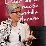 Teresa Alarcón Mañas, propietaria y encargada de la seguridad alimentaria de Maná Pistachos  Ecológicos. Foto: Manuel Lozano Garcia / La Cerca