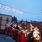 Cabalgata de Reyes de Sigüenza 2018.