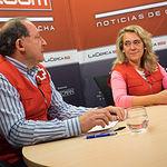 Francisco Gómez, Técnico de Empleo de Cruz Roja Provincial de Albacete y Rosa Torres, Directora de Empleo de Cruz Roja Provincial de Albacete
