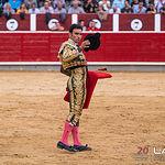 Feria taurina Albacete - Sergio Serrano - Su segundo toro.