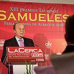 Gala de entrega de los XIII Premios Taurinos Samueles organizados por el Grupo Multimedia de Comunicación La Cerca. Foto: Manuel Lozano Garcia / La Cerca