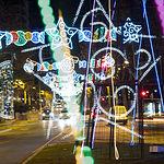 Iluminación navideña en Albacete