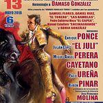 Cartel XXIX Festival Taurino a Beneficio del Cotolengo