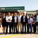 Visita a la Cooperativa Vinícola de Villarobledo.