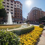 Comienzo de la Avenida Ramón y Cajal en Albacete
