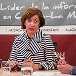 Cristina Gómez Palomo, presidenta del Comité Español de Representantes de las Personas con Discapacidad en nuestra región (CERMI CLM)