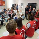 Visita de Aurelia Sánchez, consejera de Bienestar Social, a Cruz Roja Albacete