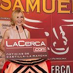 Miriam Martínez, periodista del Grupo Multimedia de Comunicación La Cerca y presentadora del acto.