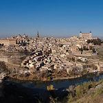 Vista de la ciudad de Toledo, una de las muchas de Castilla-La Mancha que forman parte de la Ruta del Quijote.