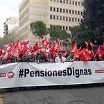 """Manifestación por unas """"pensiones dignas"""" en Albacete"""