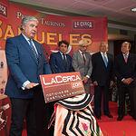 Juan Ignacio Pérez Tabernero en la Gala de entrega de los XI Premios Taurinos Samueles correspondientes a la Feria de Taurina de Albacete 2016