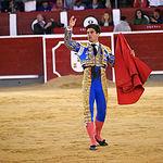 Rubén Pinar - Su segundo toro-11 - Feria Taurina Albacete - 14-09-16 - Para web