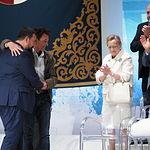 Acto institucional con motivo de la celebración del Día de Castilla-La Mancha, en el Palacio de Congresos de Albacete.