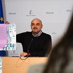 Presentación la campaña de sensibilización de la Asociación In Género dirigida a mujeres víctimas de trata. Foto: Manuel Lozano Garcia / La Cerca