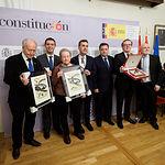 Acto institucional del 40 aniversario de la Constitución en Albacete