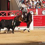 Diego Ventura - Primer toro - Corrida - 15-09-17