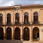 Lonja del Ayuntamiento o del Ahorí, al norte de la Plaza Mayor de la localidad de Alcaraz.