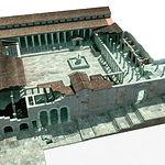 Imagen virtual del foro de Segóbriga.