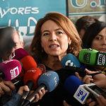 Aurelia Sánchez en la clausura del VIII Congreso y Encuentro de Voluntarios de la Federación Territorial de Pensionistas y Jubilados de CLM
