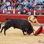 Sergio Serrano - Su segundo toro - Feria Taurina 08-09-18