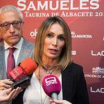 La torero Cristina Sánchez, en la Gala de entrega de los XI Premios Taurinos Samueles correspondientes a la Feria de Taurina de Albacete 2016