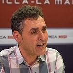 Francho Tierraseca, coordinador de la plataforma 'Somos Socialistas' en apoyo a Pedro Sánchez