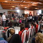 Acto público del PSOE en Casas Ibáñez.