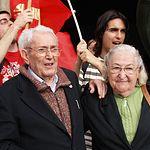 Marcelino Camacho y Josefina Samper, padres de Marcel.