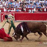 Feria taurina Albacete - Emilio de Justo - Su primer toro.