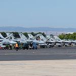 Aviones C15 en la Base Aérea de Los Llanos