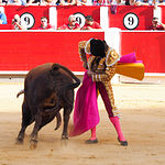 El Juli - Su segundo toro - Feria Taurina Albacete 17-09-16