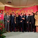 Los premiados en la III Edición de los Premios Taurinos Samueles. Foto: Manuel Lozano