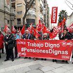 Concentración en Ciudad Real en defensa de pensiones dignas.