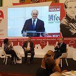 Primer Diálogo UCLM Sociedad y Segundo Desayuno de la Asociación de Periodistas de C Real.