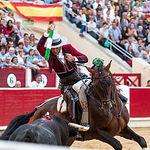 Diego Ventura - Rejones Feria Taurina Albacete - 14-09-19 - Foto: La Taurina Manchega