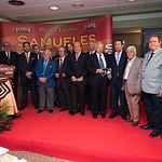 El Jurado de los Premios Taurinos Samueles recibe la Mención de Honor en la Gala de entrega de los XI Premios Taurinos Samueles correspondientes a la Feria de Taurina de Albacete 2016