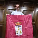 Reunión de Santi Denia con el alcalde de Albacete, Vicente Casañ.
