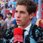 Ginés Marín, entrevistado por La Cerca en el descanso de la corrida de la Feria Taurina de Albacete del 16-09-17.