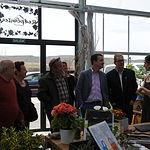 Martínez Arroyo visita a empresas de la comarca de Molina de Aragón.