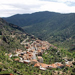 La política del presidente Barreda tiene entre sus prioridades fijar la población en el medio rural. Foto: Ayna (Albacete).