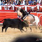 Diego Ventura - Su primer toro - Corrida 10-09-17