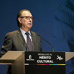 Rafael Canogar, Medalla al Mérito Cultural Extraordinario de Castilla-La Mancha