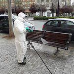 Coronavirus- Limpieza y Desinfección de la vía (Albacete).