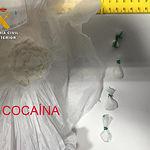 Dos detenidos en Villarrobledo y un investigado por pertenencia a un grupo dedicado a tráfico de drogas