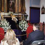 Manuel Serrano participa en el turno de vela al Santísimo Cristo del Consuelo