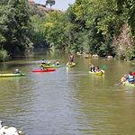 El río Júcar permite una nutrida oferta de deportes de ocio.