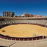 Imagen del coso de la plaza de toros de Albacete.