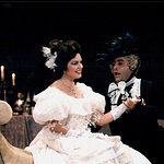 Ana Luisa Espinosa, soprano, durante una actuación en el Teatro de la Zarzuela, en Madrid.