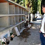 Santi Cabañero visita en Paterna del Madera algunas de las mejoras acometidas con el apoyo de la Diputación.
